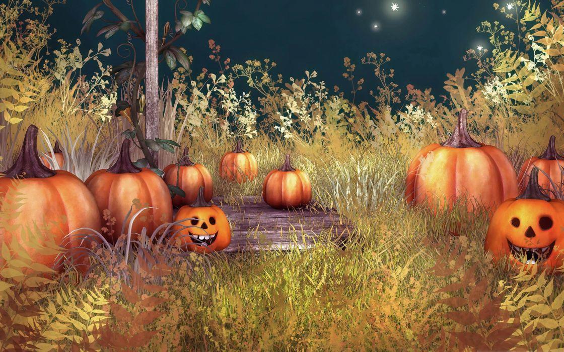 calabazas halloween wallpaper