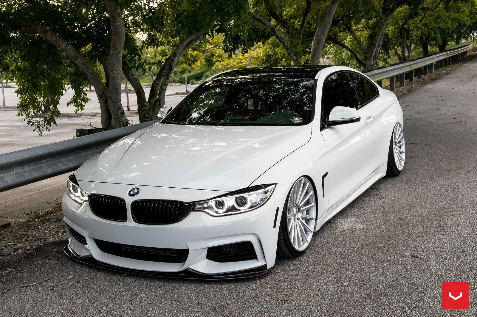 Bmw 4 series cars coupe white vossen wheels wallpaper 1600x1066 826964 wallpaperup - Bmw 2 series coupe white ...