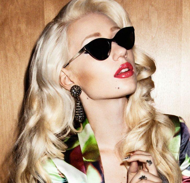 IGGY AZALEA hip hop electronic rap rapper blonde babe girl girls women woman female singer wallpaper