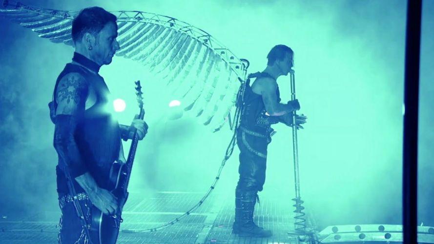 RAMMSTEIN industrial metal heavy death concert guitar wallpaper