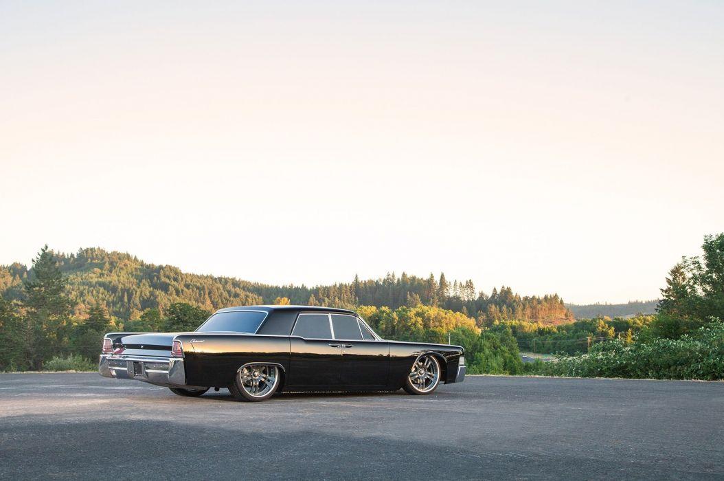 1965 Lincoln Continental Four Door Sedan Streetrod Street Roddre Hot Rod Cruiser Low USA -01 wallpaper