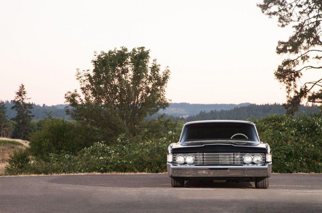 1965 Lincoln Continental Four Door Sedan Streetrod Street Roddre Hot Rod Cruiser Low USA -03 wallpaper