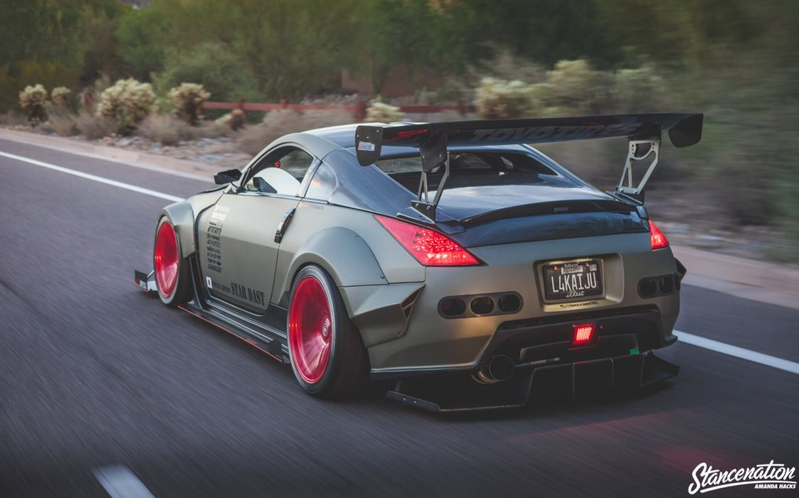 nissan 350z bodykit modified cars coupe wallpaper 1920x1197 rh wallpaperup com nissan 350z modified wallpaper nissan 350z modified for sale uk