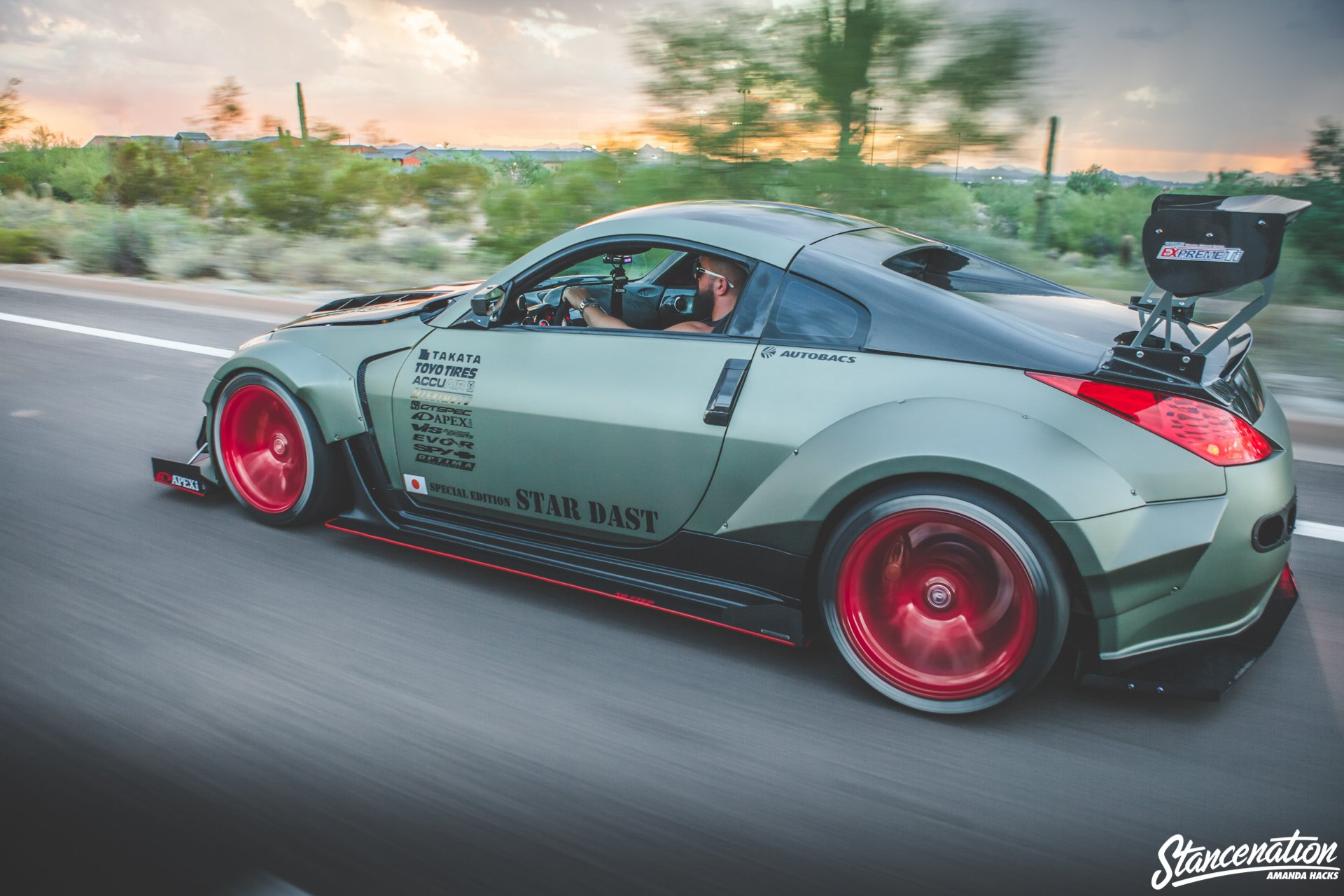 Nissan 350z Bodykit Modified Cars Coupe Wallpaper