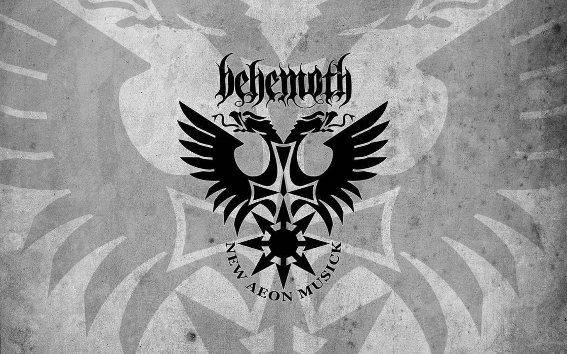 DEATH METAL heavy dark evil horror poster behemoth wallpaper
