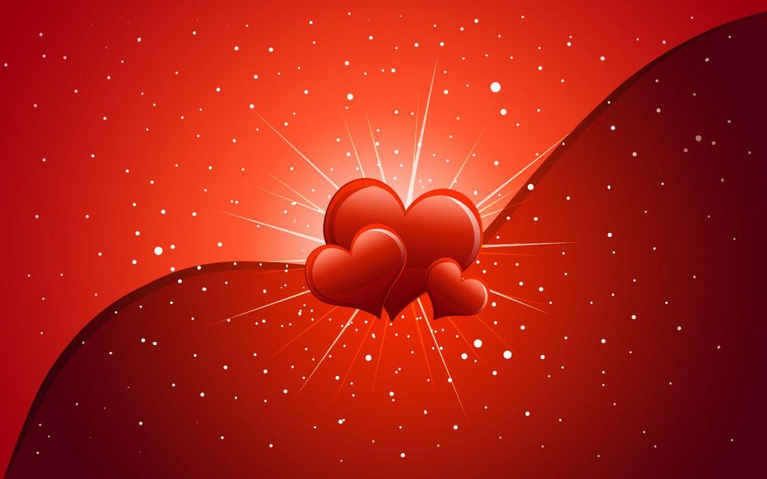 corazones amor rojos san valentin wallpaper