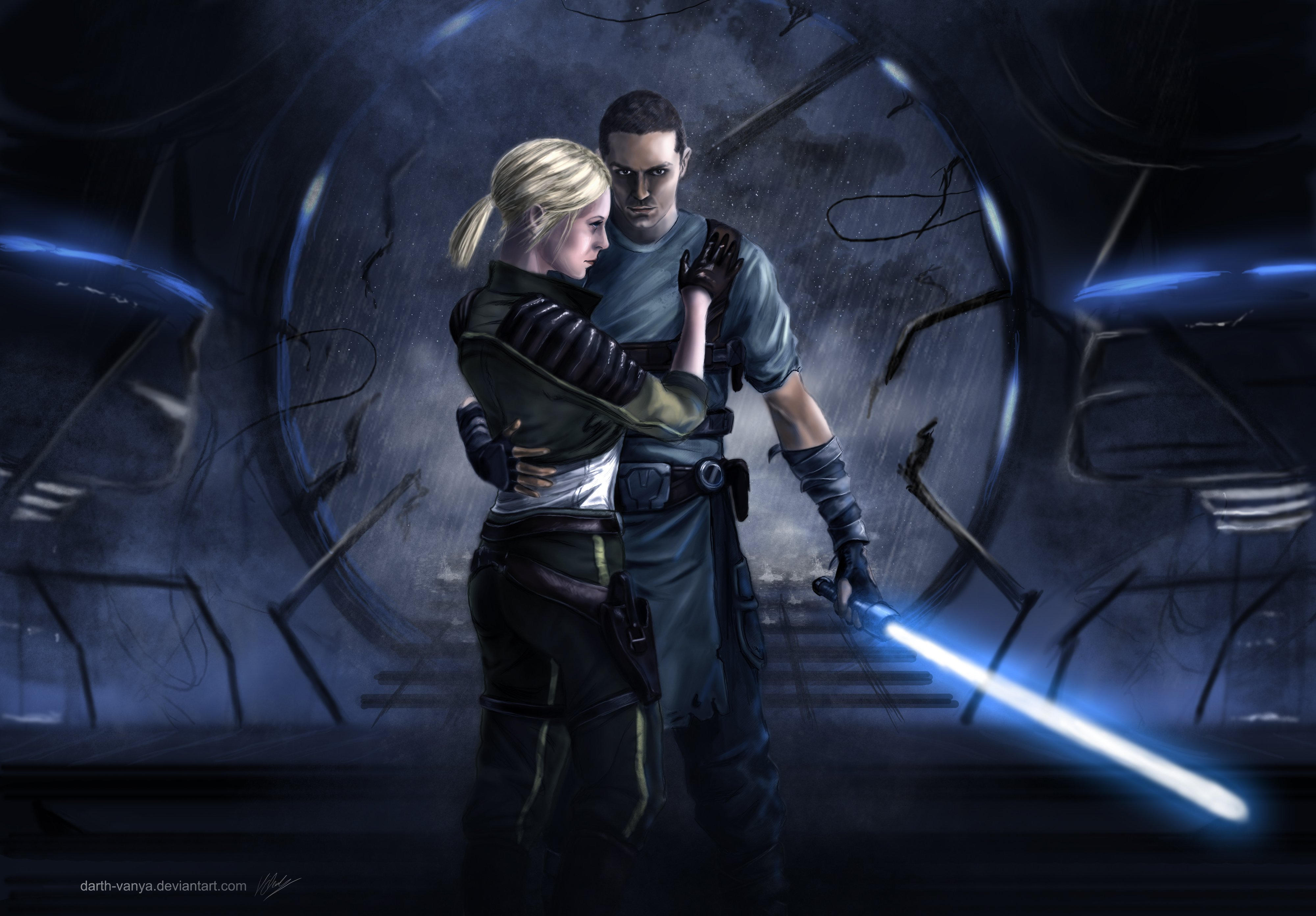 STAR WARS Force Unleashed sci-fi futuristic action ...