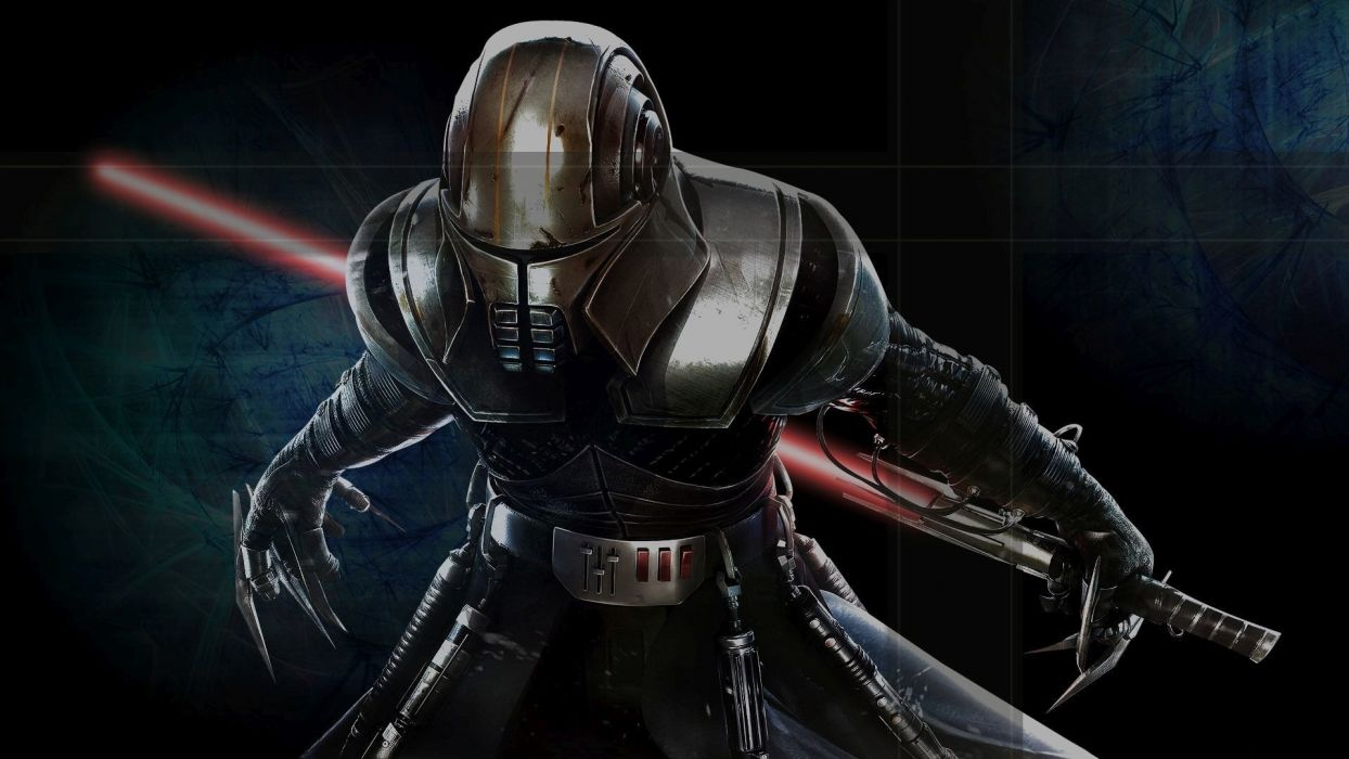 Star Wars Force Unleashed Sci Fi Futuristic Action Fighting