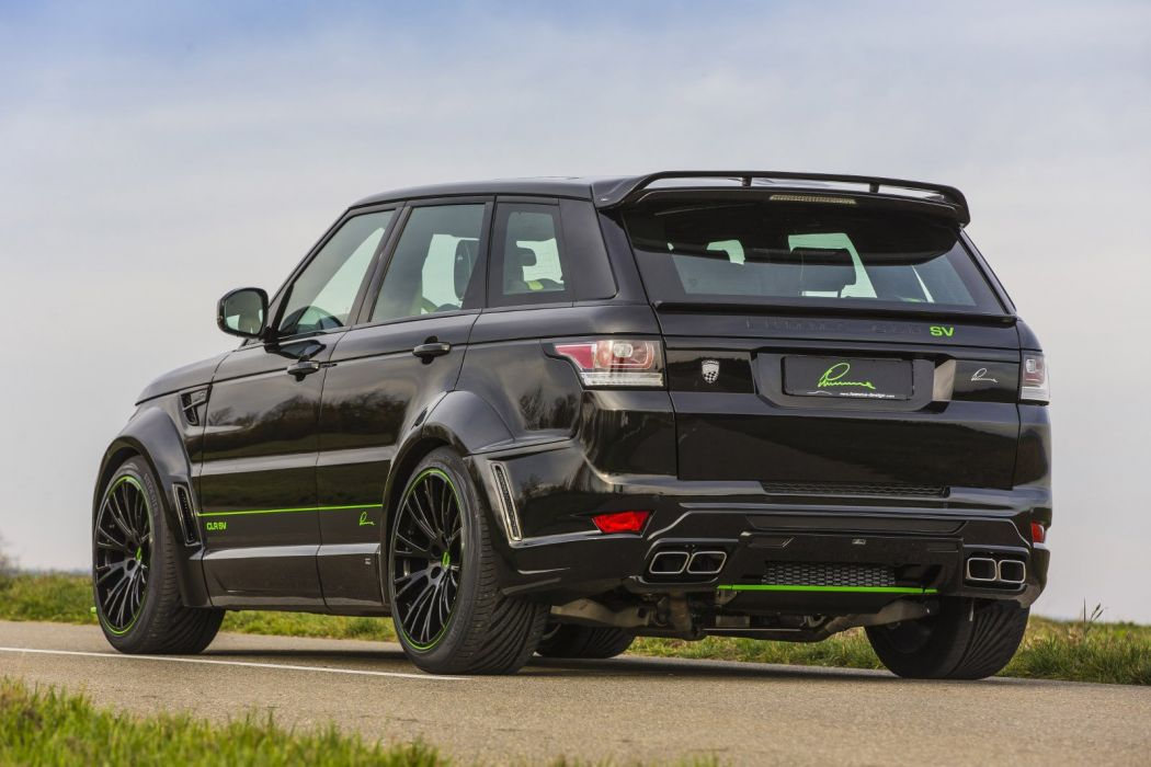 Lumma Range Rover Sport Svr Cars Suv Modified Wallpaper