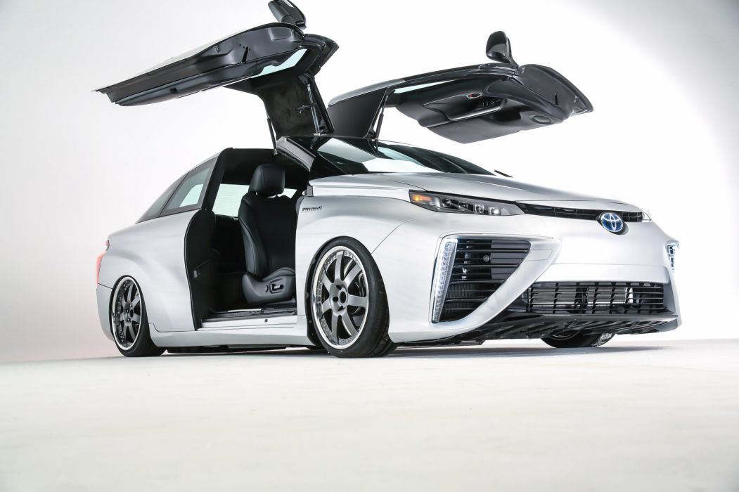 Toyota Mirai BTTF Time Machine Concept cars sema 2015 wallpaper