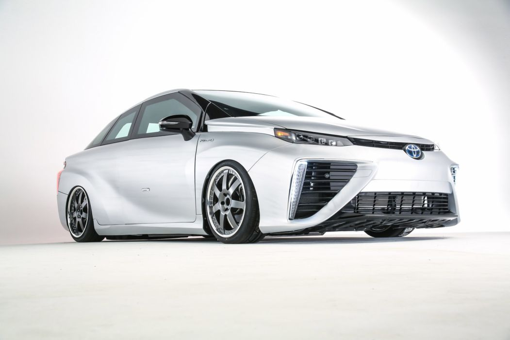 Toyota Mirai BTTF Time Machine Concept cars sema 2015 wallpaper