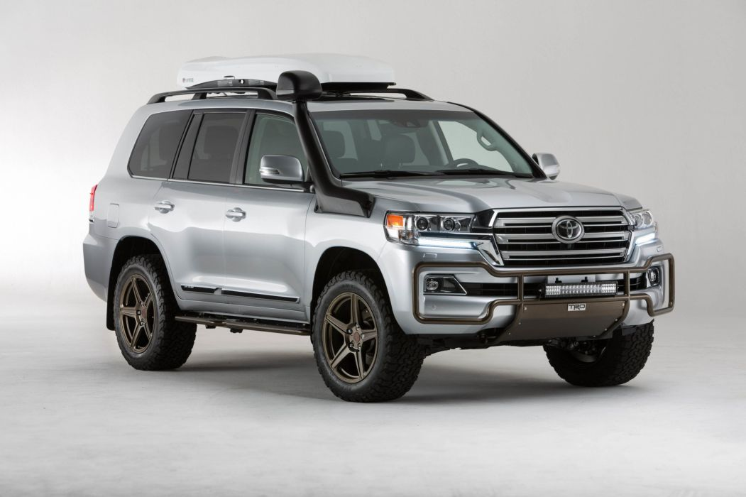 Toyota Land Cruiser TRD Concept cars sema 2015 wallpaper