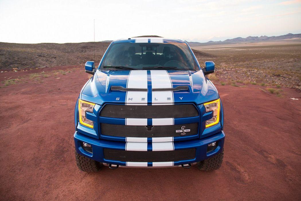 Shelby The Blue Thunder SEMA 2015 F-150 Truck ford pickup wallpaper
