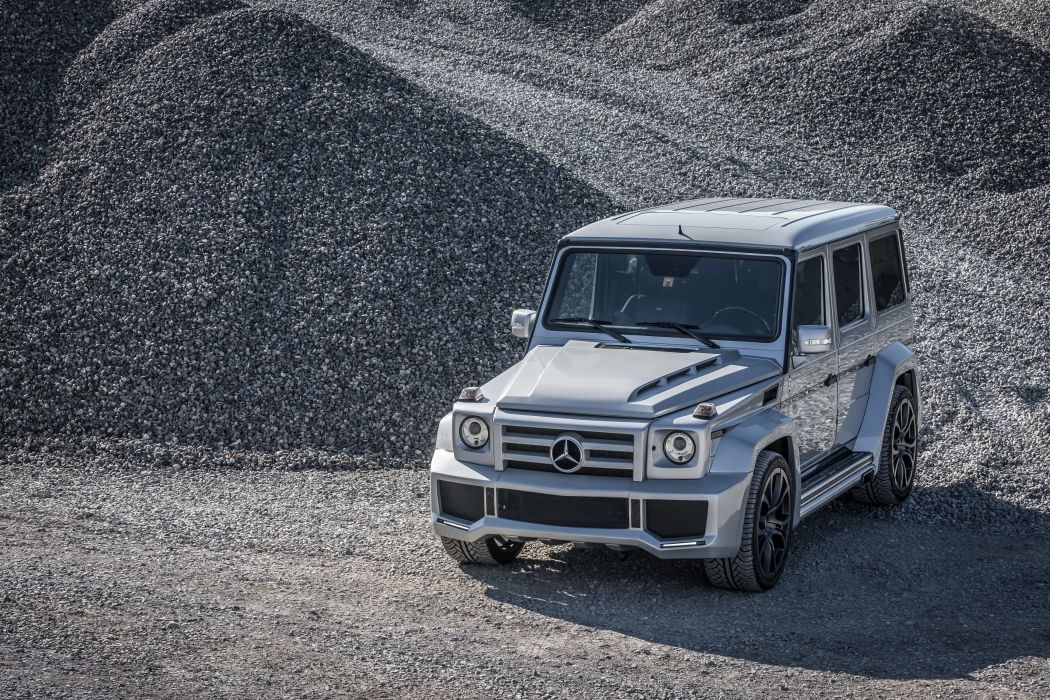 FAB Design Mercedes G-Class (W463) cars 4x4 modified 2015 wallpaper