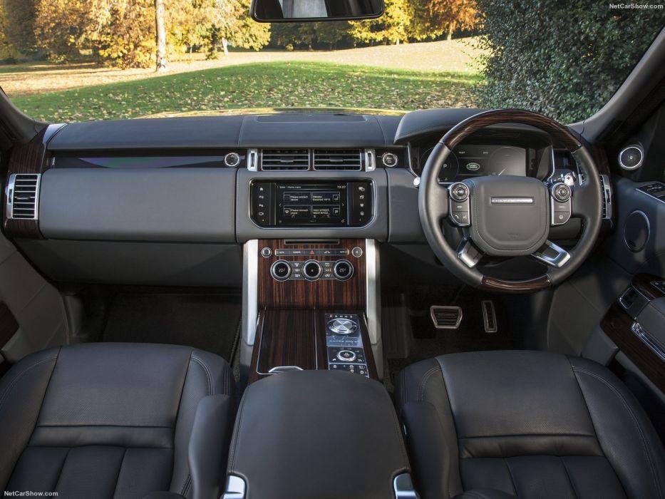 Range Rover S V Autobiography LWB cars suv 2016 UK-version wallpaper