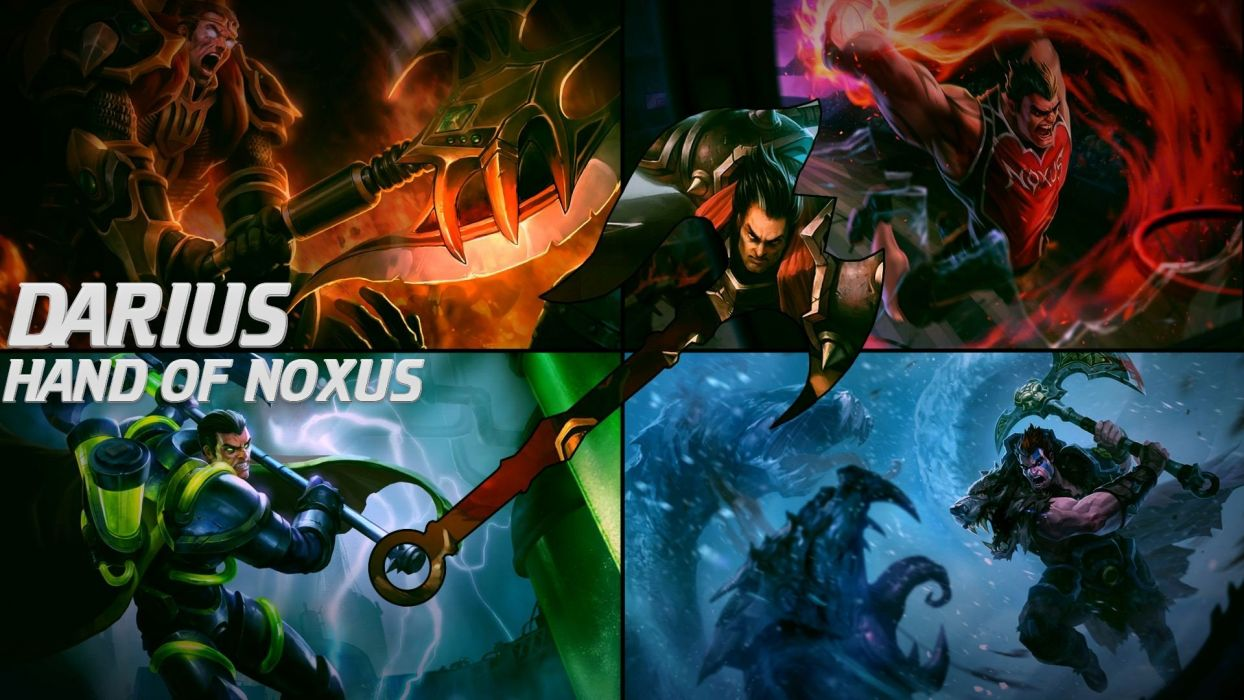 Darius The Hand Of Noxus Wallpaper