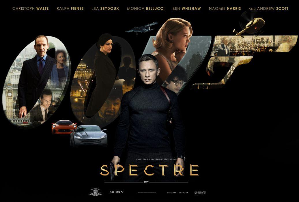 Spectre 2 James Bond 007 Movie Action Film Daniel Craig Picture Photo Poster