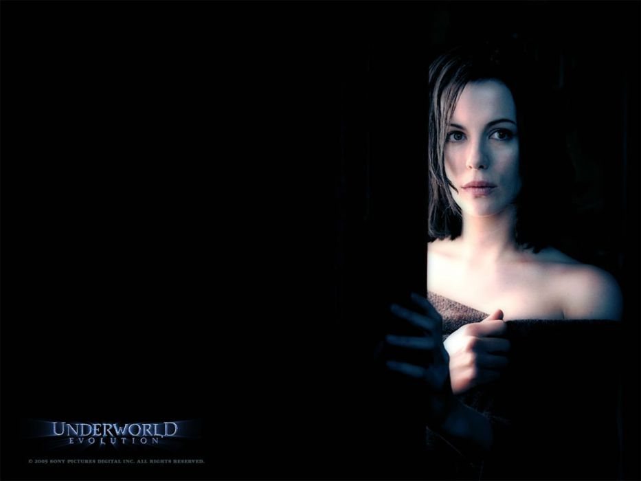 UNDERWORLD action fantasy vampire dark gothic poster wallpaper