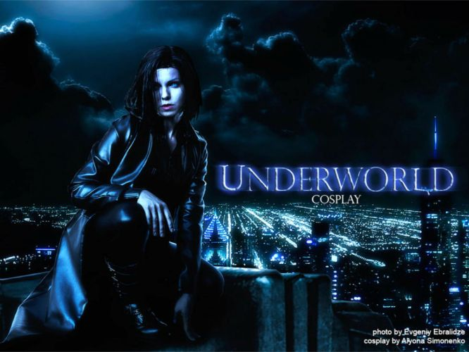 UNDERWORLD action fantasy vampire dark gothic poster cosplay wallpaper
