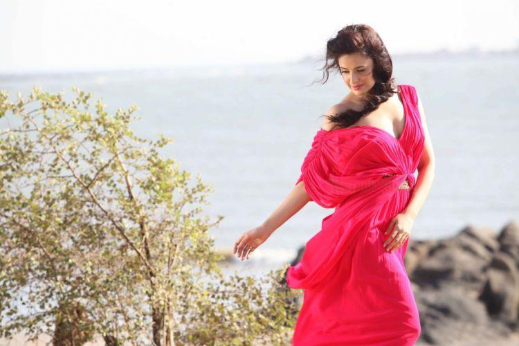 yuvika choudhary bollywood actress model girl beautiful brunette pretty cute beauty sexy hot pose face eyes hair lips smile figure indian wallpaper