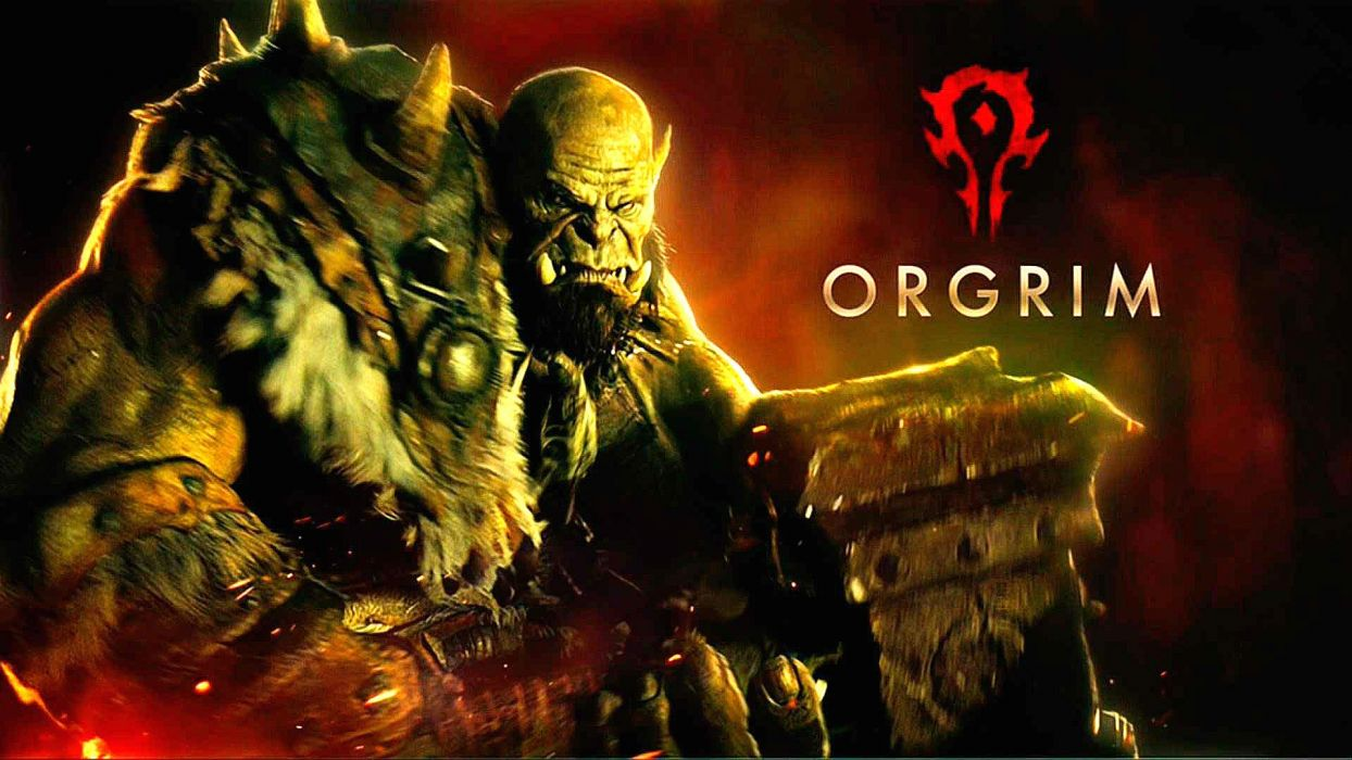 WARCRAFT Beginning fantasy action fighting warrior adventure world 1wcraft monster creature ogre poster wallpaper