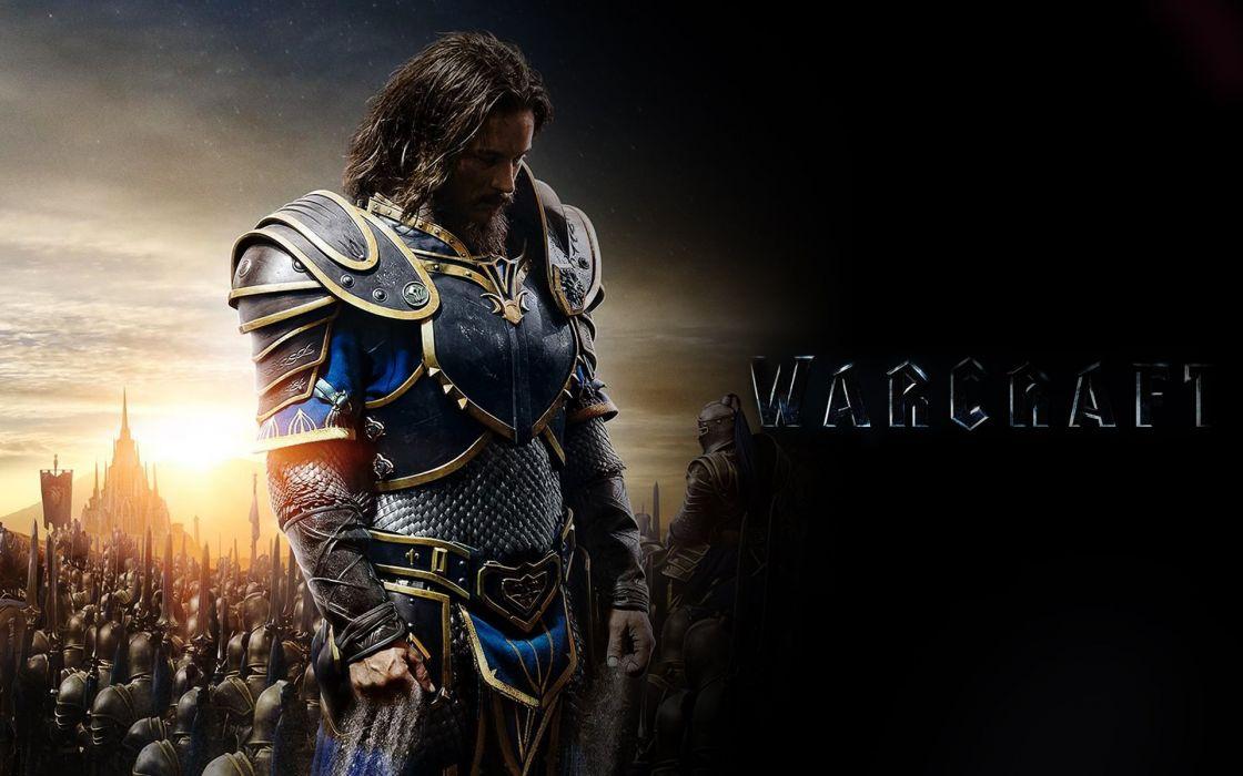 WARCRAFT Beginning fantasy action fighting warrior adventure world 1wcraft knight armor wallpaper