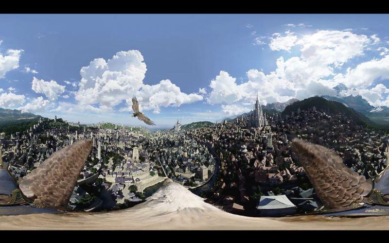 WARCRAFT Beginning fantasy action fighting warrior adventure world 1wcraft city cities wallpaper