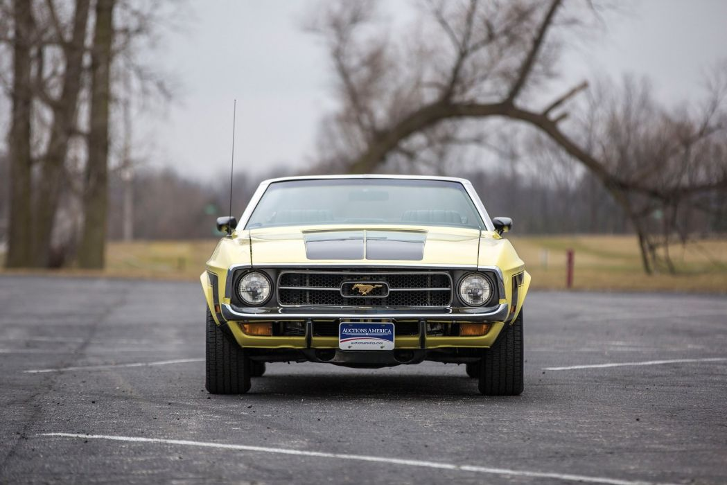 1971 Ford Mustang Convertible cars wallpaper