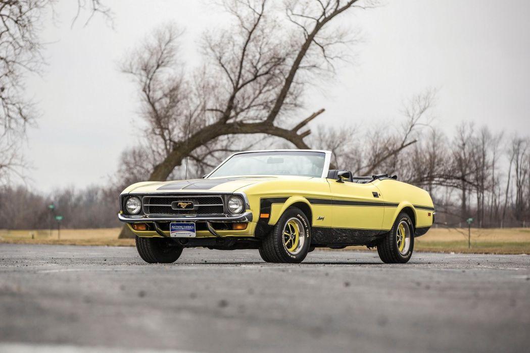 1971 Ford Mustang Convertible cars wallpaper