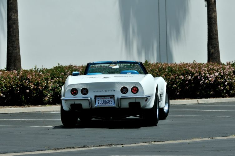 1970 Chevrolet classic convertible Corvette da3 muscle Supercar zr 1 wallpaper