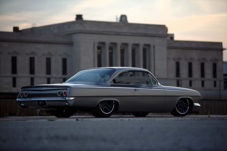 1962 Chevy bubbletop cars coupe modified wallpaper