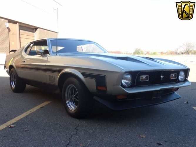 1971 Ford Mustang Mach-1 cars wallpaper