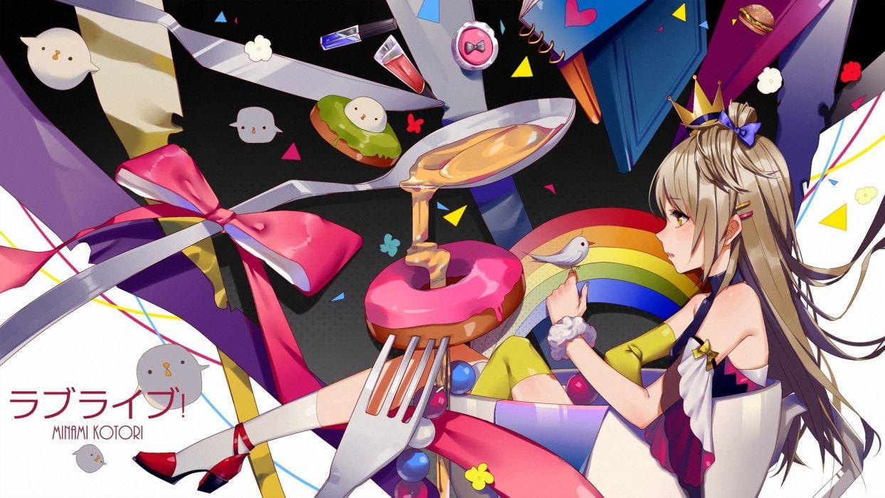 love live! school idol project minami kotori prophet heart wallpaper