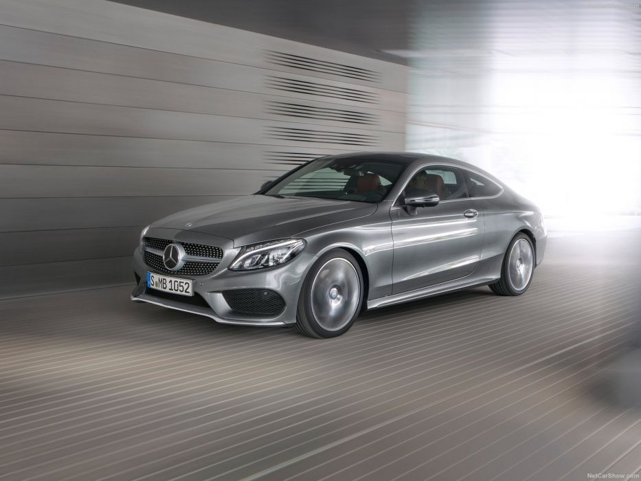 Mercedes C-Class 300 Coupe cars 2015 wallpaper