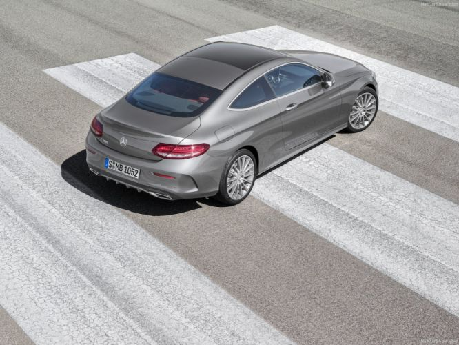 Mercedes C-Class 300 Coupe cars 2015 wallpaper