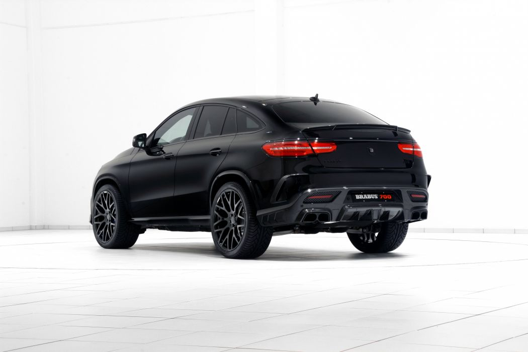 Brabus Mercedes AMG GLE-63 4MATIC Coupe cars suv 2015 wallpaper