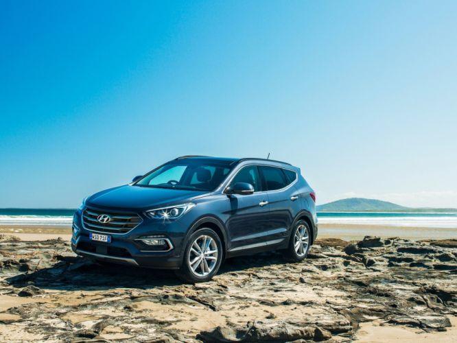 Hyundai Santa-Fe AU-spec cars suv 2015 wallpaper