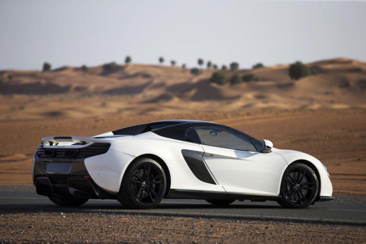 McLaren 650S Spider Al Sahara 79 cars white 2015 wallpaper