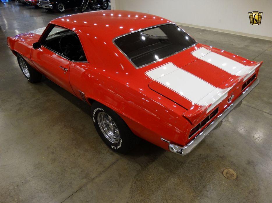 1969 Chevrolet Camaro coupe red z28 wallpaper