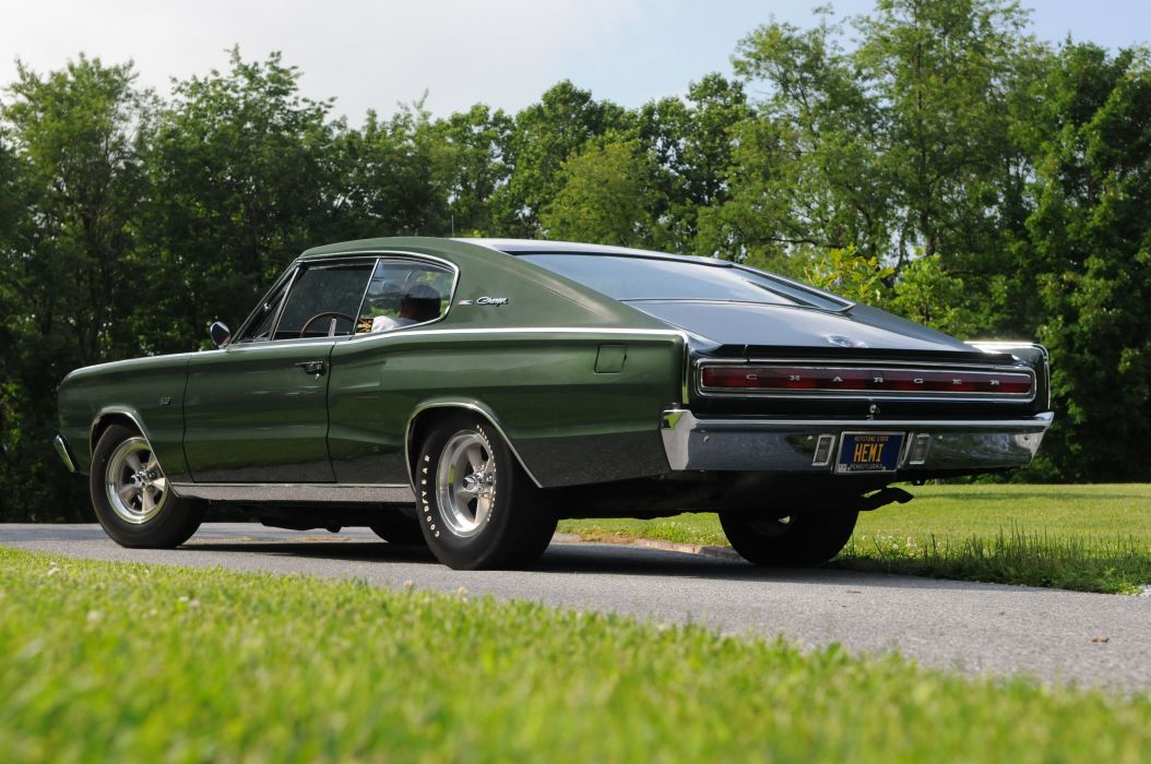 1966 Dodge Charger Hemi coupe cars wallpaper