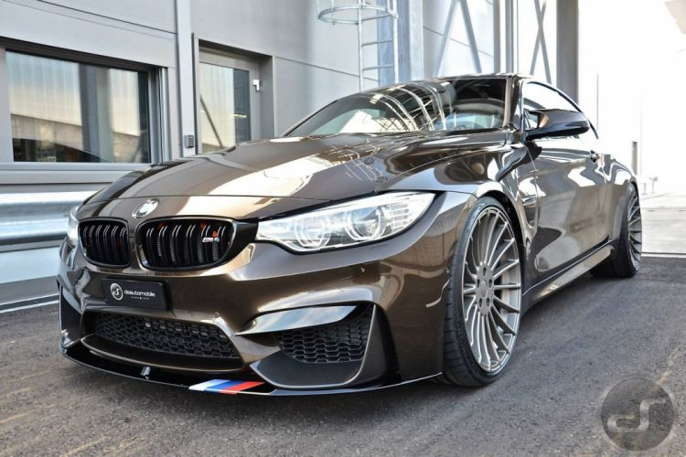BMW-M4 coupe Pyrite Brown M-Performance cars 2015 wallpaper