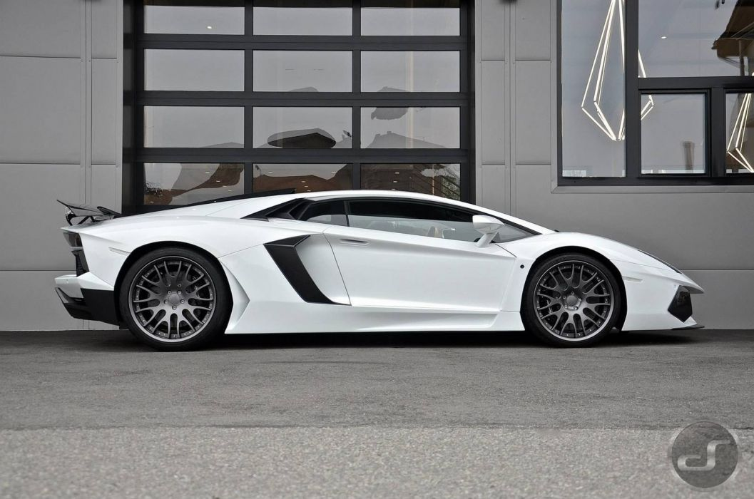 Hamann Lamborghini Aventador cars supercars white wallpaper
