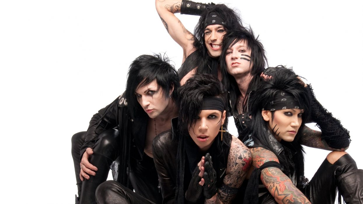 Black Veil Brides Heavy Metal Glam Metalcore Wallpaper