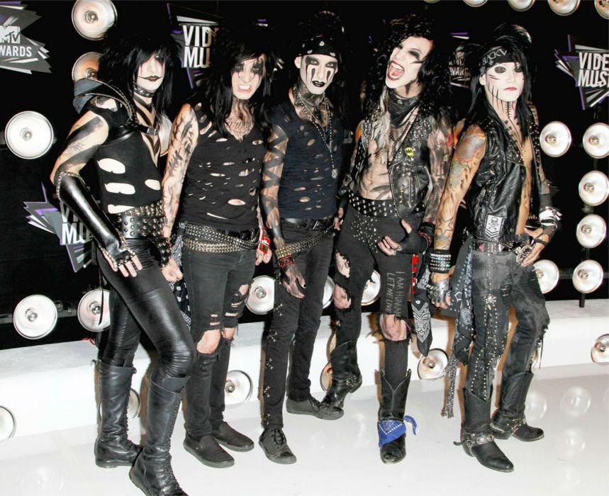 BLACK VEIL BRIDES heavy metal glam metalcore wallpaper