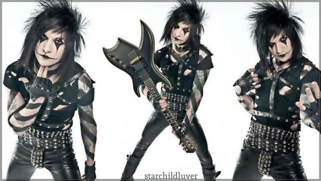 BLACK VEIL BRIDES heavy metal glam metalcore guitar wallpaper
