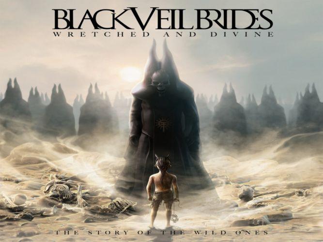 BLACK VEIL BRIDES heavy metal glam metalcore poster artwork fantasy reaper wallpaper