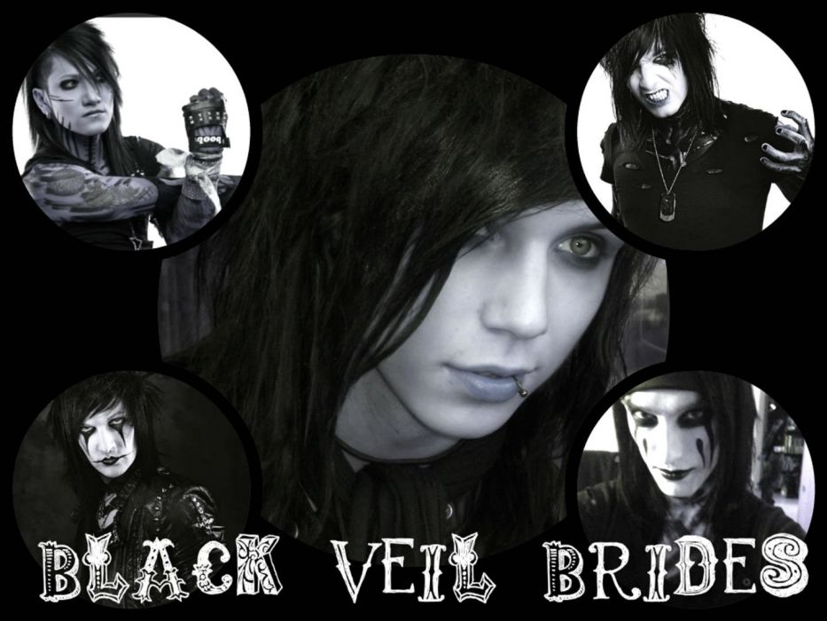 BLACK VEIL BRIDES heavy metal glam metalcore poster wallpaper