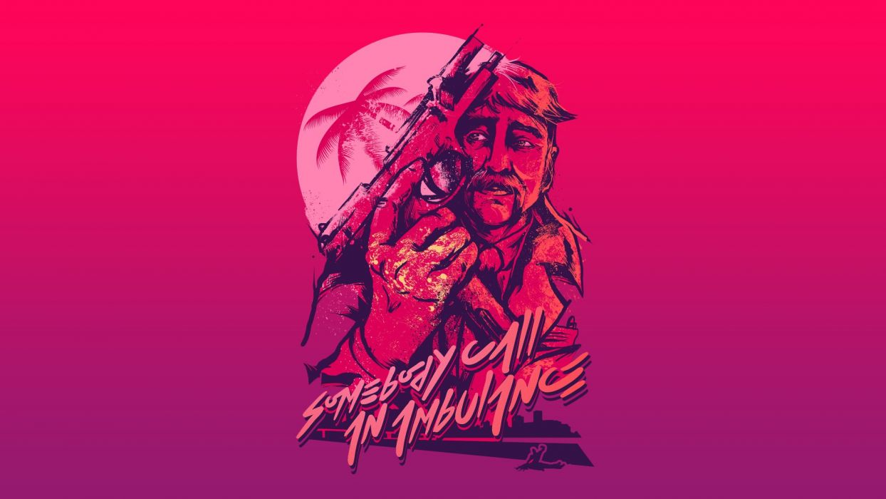 Hotline Miami Action Shooter Fighting Hotline Miami Payday