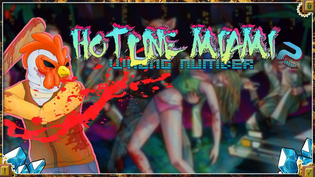 HOTLINE-MIAMI action shooter fighting hotline miami payday poster wallpaper