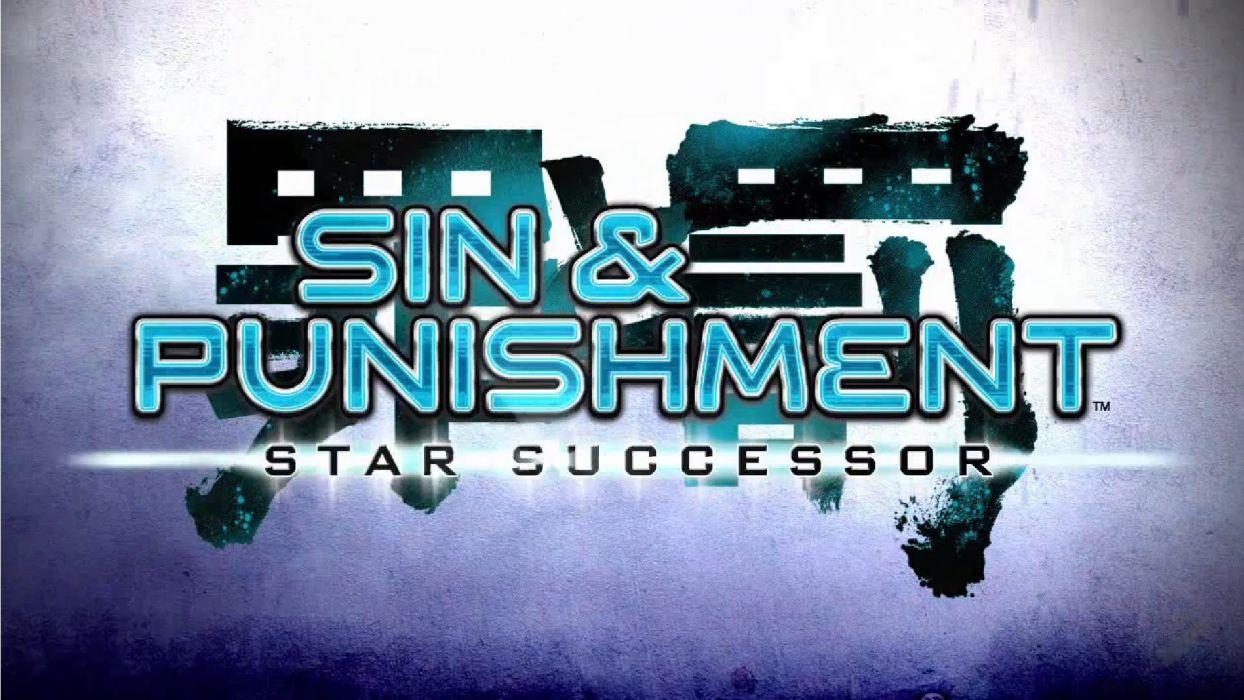 SIN PUNISHMENT anime fantasy shooter action fighting 1spun sci-fi poster wallpaper
